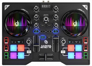 Dj-контроллер HERCULES DJ CONTROL INSTINCT P8 PARTY PACK