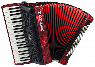Аккордеон HOHNER The New Bravo III 120 red
