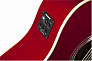 ЭЛЕКТРОАКУСТИЧЕСКАЯ ГИТАРА FENDER SONORAN SCE CANDY APPLE RED