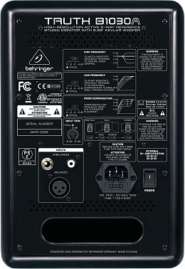 СТУДИЙНЫЕ МОНИТОРЫ BEHRINGER B 1030A TRUTH(ПАРА)
