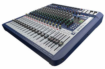 МИКШЕРНЫЙ ПУЛЬТ SOUNDCRAFT Signature 16
