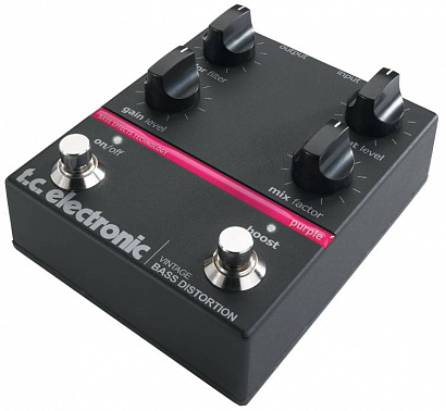 БАСОВЫЙ ЭФФЕКТ TC ELECTRONIC VINTAGE BASS DISTORTION