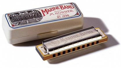 ГУБНАЯ ГАРМОШКА HOHNER MARINE BAND 1896/20 E LOW