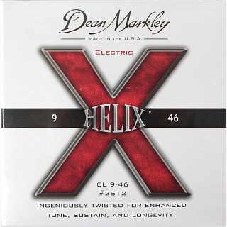 СТРУНЫ DEAN MARKLEY HELIX HD ELECTRIC 2512 CL