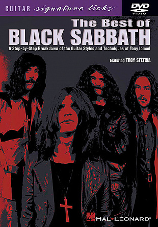 HAL LEONARD DVD BEST OF BLACK SABBATH