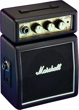 ГИТАРНЫЙ КОМБИК MARSHALL MS-2-E MICRO AMP (BLACK)
