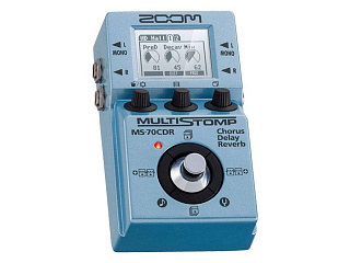 Педаль эффектов ZOOM MS-70CDR