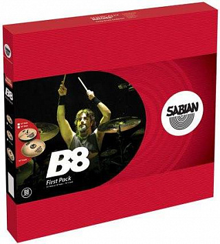 КОМПЛЕКТ ТАРЕЛОК SABIAN B8 FIRST PACK