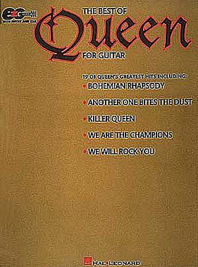 HAL LEONARD EZGTR THE BEST OF QUEEN