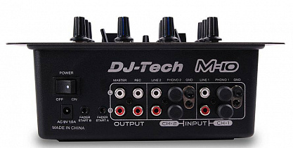 DJ МИКШЕР DJ-TECH M-10USB