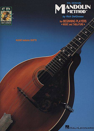 HAL LEONARD MANDOL MANDOLIN BK1 BK/CD 2ND