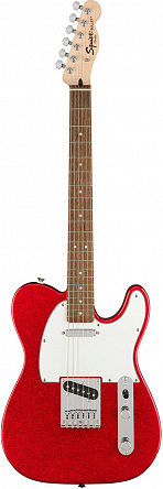 FENDER SQUIER FSR Bullet Tele®, Laurel Fingerboard, Red Sparkle