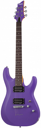 Электрогитара SCHECTER C-6 DELUXE SATIN DARK PURPLE