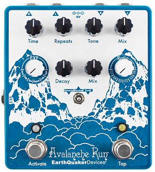 Гитарная педаль EarthQuaker Devices Avalanche Run V2