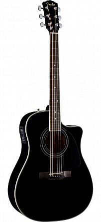 ЭЛЕКТРОАКУСТИКА FENDER CD-140SCE DREADNOUGHT BLACK