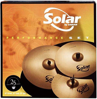 КОМПЛЕКТ ТАРЕЛОК SABIAN SOLAR PERFORMANCE SET