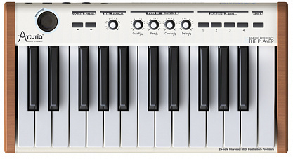 ARTURIA ANALOG EXPERIENCE THE PLAYER 25