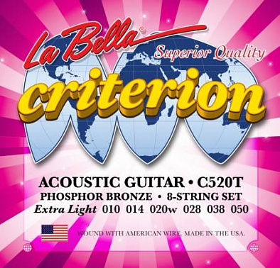 СТРУНЫ LA BELLA CRITERION C520T