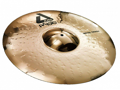ТАРЕЛКА PAISTE 18 Alpha  Brilliant Metal Crash