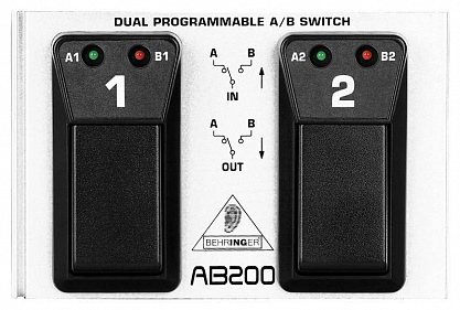 КОНТРОЛЛЕР BEHRINGER AB 200 DUAL A/B SWITCH