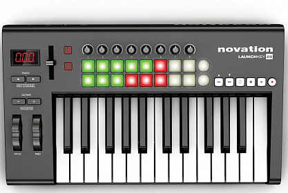MIDI КЛАВИАТУРА NOVATION LAUNCHKEY 25