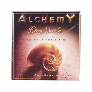 СТРУНЫ DEAN MARKLEY ALCHEMY GOLDBRONZE 2022 (85/15) LT