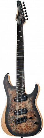 Электрогитара SCHECTER REAPER-7 MS CHARCOAL BURST