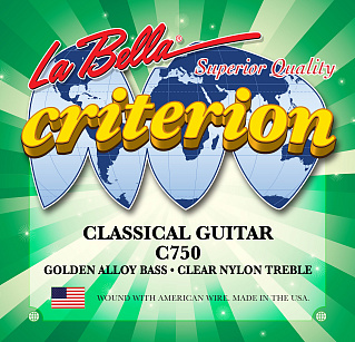 СТРУНЫ LA BELLA CRITERION C750
