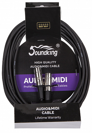 MIDI кабель SOUNDKING BC405 (20FT)