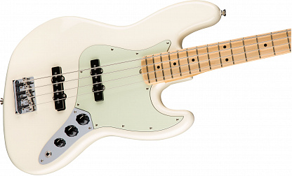 Fender American Professional Jazz Bass Mn Olympic White