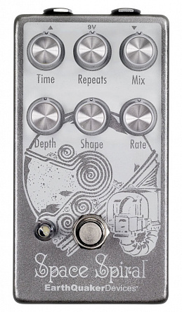 Гитарная педаль EarthQuaker Devices Space Spiral V2