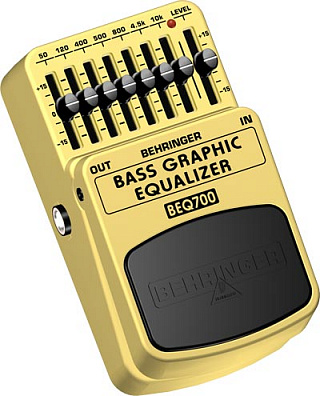 ЭКВАЛАЙЗЕР BEHRINGER BEQ700 BASS GRAPHIC EQUALIZER