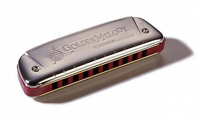 ГУБНАЯ ГАРМОШКА HOHNER GOLDEN MELODY 542/20 DB