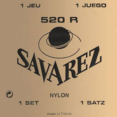 СТРУНЫ SAVAREZ 520R Traditional Red high tension