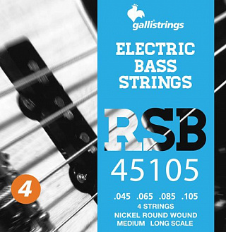 Струны GALLI STRINGS RSB45105