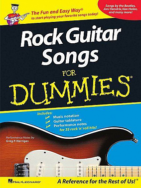 HAL LEONARD GTRCL ROCK GTR SONGS DUMMIES