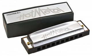 ГУБНАЯ ГАРМОШКА HOHNER Hot Metal G (M57208X)