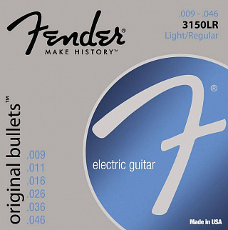 СТРУНЫ FENDER STRINGS NEW ORIGINAL BULLET 3150LR