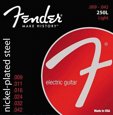 СТРУНЫ FENDER STRINGS NEW SUPER 250L NPS BALL END