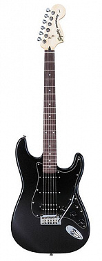 ЭЛЕКТРОГИТАРА FENDER SQUIER STANDARD FAT STRATOCASTER RW BLACK METALLIC