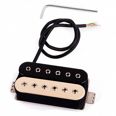 SCHALLER 2IN1 HUMBUCKER ZEBRA (NECK) (АРТ. 16033218)