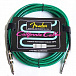 ГИТАРНЫЙ ШНУР FENDER 10 CALIFORNIA CABLE SURF GREEN