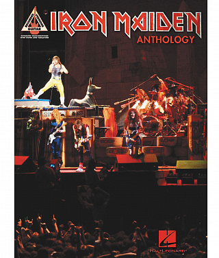 HAL LEONARD 690790 IRON MAIDEN ANTHOLOGY