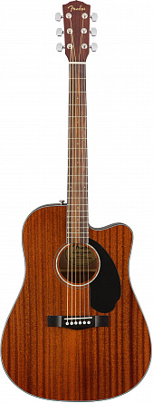 Электроакустическая гитара FENDER CD-60SCE ALL MAHOGANY