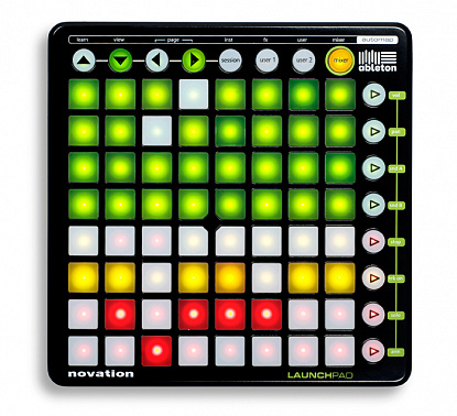 МИДИ КОНТРОЛЛЕР NOVATION LAUNCHPAD