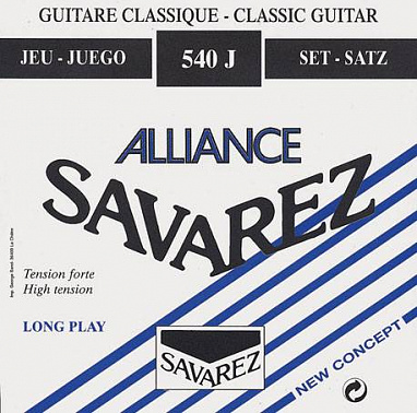 СТРУНЫ SAVAREZ 540J Alliance Blue high tension