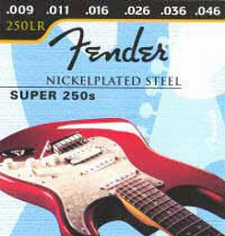 СТРУНЫ FENDER SUPER 250 NICKEL PLATED STEEL BALL END 250 LR