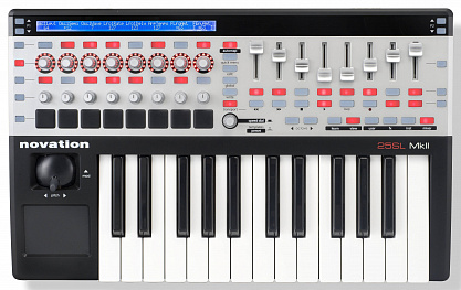 MIDI КЛАВИАТУРА NOVATION 25 SL MKII