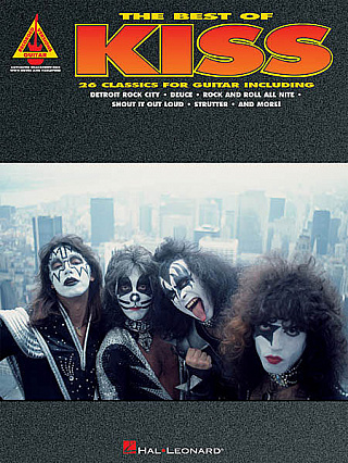 HAL LEONARD RVRN BEST OF KISS FOR GUITAR