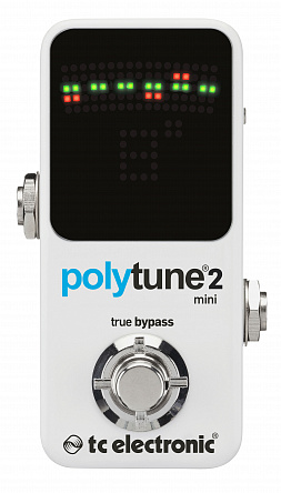 Тюнер TC ELECTRONIC POLYTUNE 2 MINI